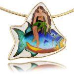Alohi Lani Designs, cloisonne jewelry