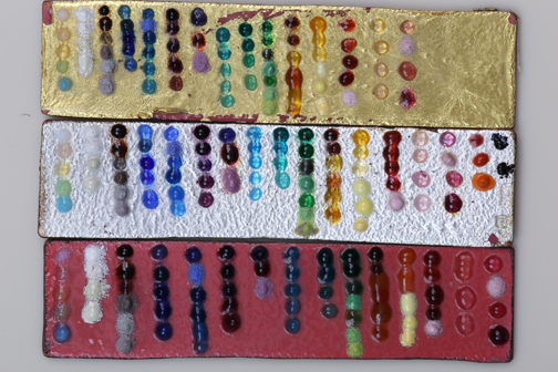 Enamels on Different Metals Look