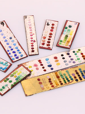 Enamels, Properties, Firing Times and Color Charts