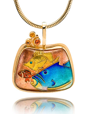Cloisonne Jewelry Techniques