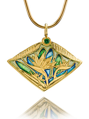 Plique a Jour Jewelry Techniques