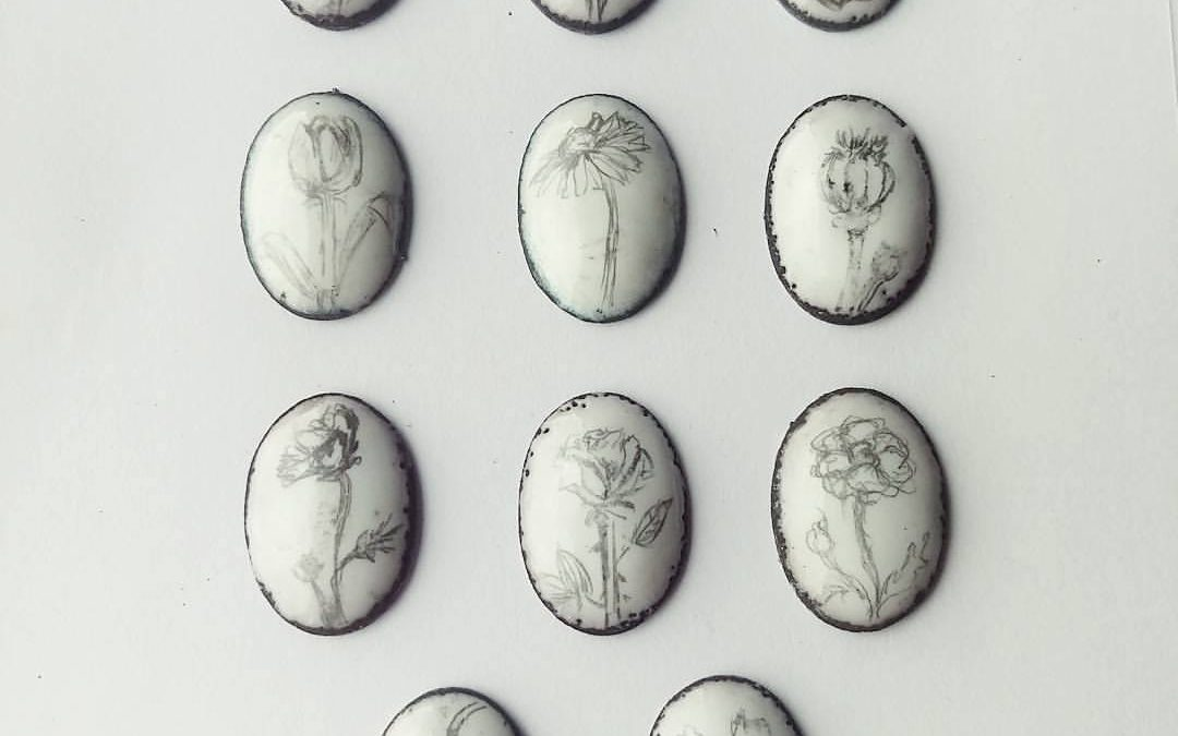 Graphite on Enamel, How to use.