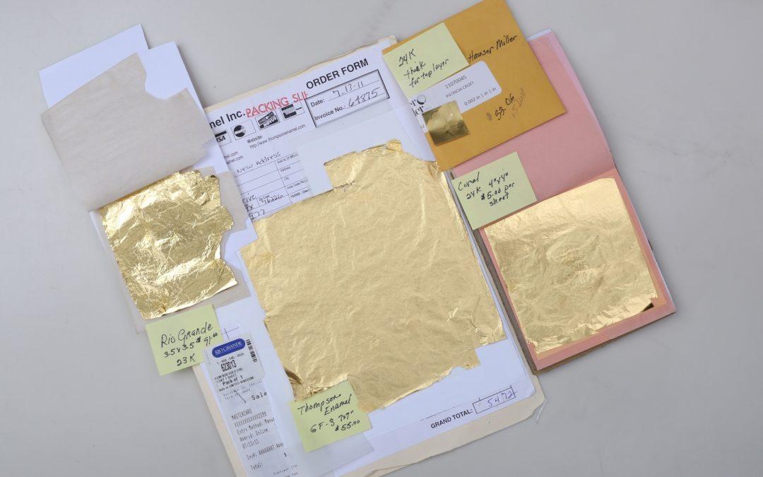 Foil Comparison for Enameling