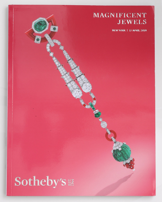 Sotheby's Catalog Majestic Jewels NY 2019